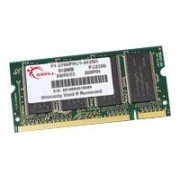 G.Skill SO-DIMM Series F1-2700PHU1-512SA - DDR - 512 Mo - SO DIMM 200 broches - 333 MHz / PC2700 - CL2.5 - 2.75 V - mémoire sans tampon - non ECC