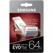 Samsung MICROSDXC 64GB CLASS10 UHS-3 EVO+ 100MB/S