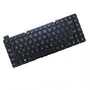 FQ Teclado del Ordenador portátil para For ASUS R304 R304L R304LA R304LP Color Negro Versión en inglés de EE. UU.