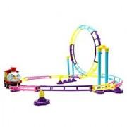 PowerTRC Park Roller Coaster Toy Building Set (76 Pcs)