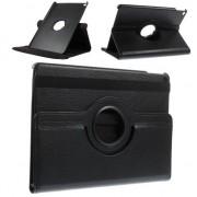 GadgetBay Etui iPad Air 2 noir avec couvercle pivotant standard