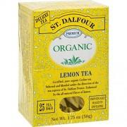 St. Dalfour Organic Lemon Tea -- 25 Tea Bags