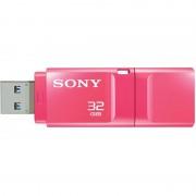 USB DRIVE, 32GB, Sony New microvault, USB3.0, Click, Pink (USM32GXP)