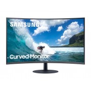 "Monitor VA, SAMSUNG 23.6"", 24T550, Curved 1000R, LED, 4ms, 3000:1, HDMI/DP, FullHD (LC24T550FDUXEN)"