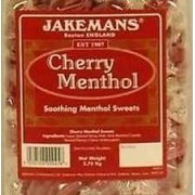 Jakemans Cherry Menthol Hard Boiled Traditional Cough Sweets