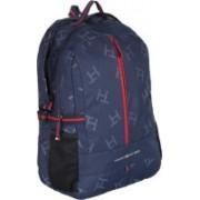 Tommy Hilfiger Biker Club Alaska 23.6 L Medium Laptop Backpack(Blue)