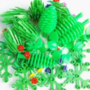 Block Parts Compatible for LEGO Garden Flower Tree Plant Set Building Toy Trees Plants Flowers