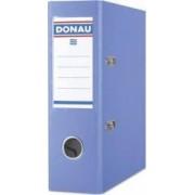Biblioraft A5 plastifiat PP margine metalica 75 mm DONAU - bleu