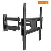 Slim Tilt Swivel TV Wall Mount Bracket 32 42 48 49 50 55 inch Adjustable
