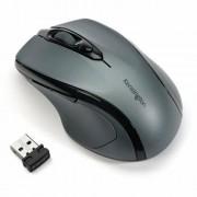 Egér, vezeték nélküli, optikai, közepes méret, USB, KENSINGTON Pro Fit, szürke (BME72423)