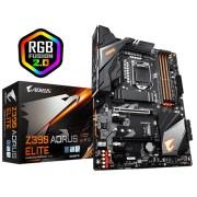 Tarjeta Madre Gigabyte Z390 aorus elite, 4DDR4 / 1151 / HDMI / 1USB-C / 4USB3.1