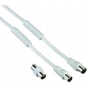 Hama BNC M-F 3m cavo di segnale Bianco