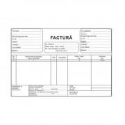 Facturi fara TVA A5, 3 Ex, 50 Seturi/Carnet - Formulare Tipizate Autocopiative