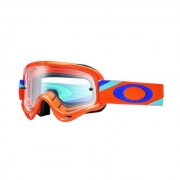 Oakley OO7030 11 XS O-FRAME MX HERITAGE RACER ORG BLUE CLEAR motocross szemüveg (utolsó darab)