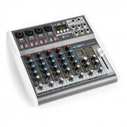Vonyx VMM-K402 music mixer de 6 canales Bluetooth USB-Audio-Interface (Sky-172.587)