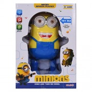 Toyvala Despicable Me Musical Dancing and Walking Minions Action Figure Toy with Colorful Lights and Sounds Toy for Kids (Color May Vary)