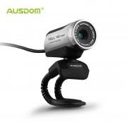 Ausdom AW615 1080 p usb 2.0 hd webcam camera computer web camera met microfoon voor pc laptop gratis driver web cam