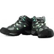 Salomon Manila Mid Gtx Hiking & Trekking Shoes For Women(Grey)