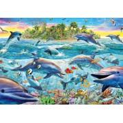 Puzzle Schmidt - Recif de delfini, 500 piese (58227)