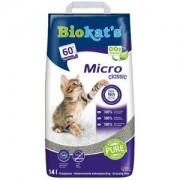 Biokat's Litière pour Chat Biokat Micro Classic 2 x 14 litres