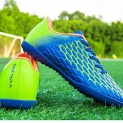Comfortabele demping anti-slip jeugdopleiding voetbalschoenen (kleur: blauw maat: 34)