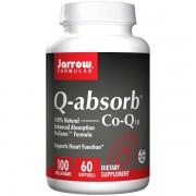 Q-absorb Co-Q10 100 mg (60 softgels) - Jarrow Formulas