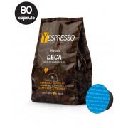80 Capsule Yespresso Decaffeinato - Compatibile Cafissimo / Caffitaly / BeanZ