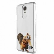 Husa Silicon Transparent Slim Ice Age Nutty LG G7 ThinQ