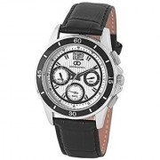 Gio Collection Analog White Dial Mens Watch - G1002-01