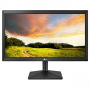 Монитор LG 20MK400H-B, 19.5 LED AG, 5ms GTG, 600:1, Mega DFC, 200cd/m2, HD 1366x768, D-Sub, HDMI, Tilt, Flicker Safe, Черен, 20MK400H-B