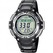 Kronografski Ručni sat SGW-100-1VEF (D x Š x V) 51.5 x 47.6 x 13.2 mm Crna Materijal kućišta=Smola Materijal (narukvica)=Smola C