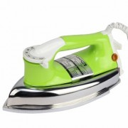 MONEX New Range Of Heavyweight Plancha 1000 W Dry Iron (Green)
