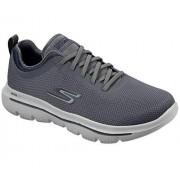 Skechers Go Walk Evolution Ultra-Intercept Zapatillas para Hombre, Carbón/Azul Marino, 8 US