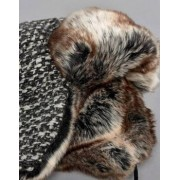 66o North 66 North Kaldi Arctic Faux Fur Trapper Hat In Black - Black