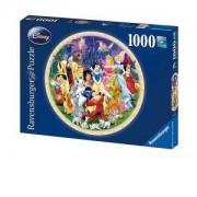 Пъзел Ravensburger 1000 части - Светът на Дисни, 7015784