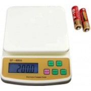 Zeom Multi-Purpose SF 400A Digital Household Use And Backlight Weighing Scale (White)017 Weighing Scale (White) Weighing Scale(White)
