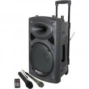 prijenosni pa zvučnik 25 cm 10 palac Ibiza Sound PORT10VHF-BT 1 St.