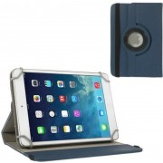 Huawei MediaPad T1 7.0 draaibare tablet hoes Donker Blauw
