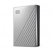 Hard disk extern WD My Passport Ultra 4TB 2.5 inch USB 3.0 Silver