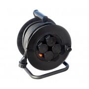 Soligth PB33 - Prelungitor pe tambur25m negru