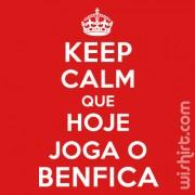 T-shirt Keep Calm Benfica