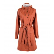 Rains Regenjassen Curve Jacket Oranje
