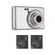 EY 18 millones de zoom óptico 6x lente telescópica con Macro cámara digital de 2,4 pulg.