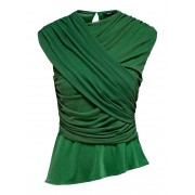 ONLY Gedetailleerde Top Dames Green / Female / Green / L
