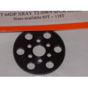 RW 64X95T 95 Tooth Xray T2, T3 Offset Supa-lite Spur Gears 64dp