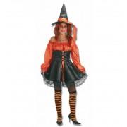 Disfraz Bruja Naranja Halloween - Creaciones Llopis