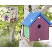 Nichoir à oiseaux décoratif pour enfants