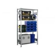 DiscountOffice Inhaakstelling Basis Hxbxd 2000x1000x400mm 4legborden Veldlast 2300kg