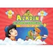 Aladin si lampa fermecata - povesti pop-up