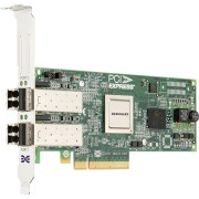 Dell Emulex LPe12002 Dual Channel 8GB PCIe Host Bus Adapter Low Profile - Kit